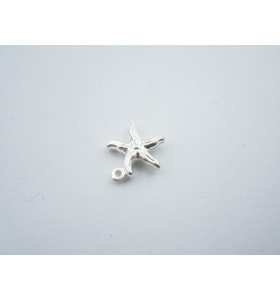 ciondolo charms stella marina in argento 925 sterling misure 15x12,5 mm italy