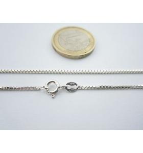 catenina argento 925 sterling lunga 90 cm modello veneziana grossa made in italy