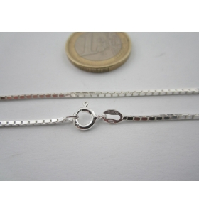 catenina lunga 45 cm veneziana di 1,2x1,2 mm argento 925 sterling italy
