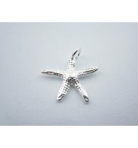 ciondolo charms stella marina  in argento 925 sterling misure 17x16 mm italy