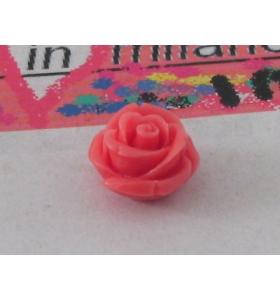 1rosellina composto cristallizzato14x10 mm rosa/arancio