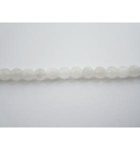 4 perle in pietra di luna arcobaleno cabochon di 6 mm 1° scelta