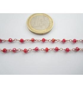 44 cm catenina rosario...