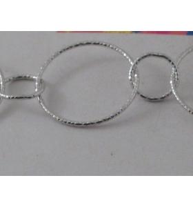 19 cm di catena in  argento...