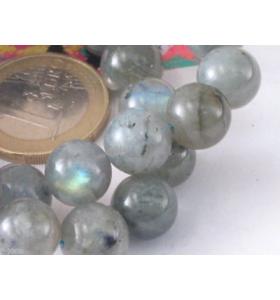 1 filo di labradorite chiara diametro 6 mm lungo 41 cm 74 pietre