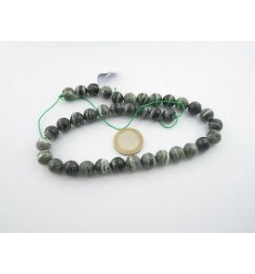 1 filo di perle sfaccettate...