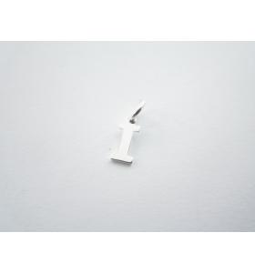 1 ciondolo charms piccola lettera I in argento 925