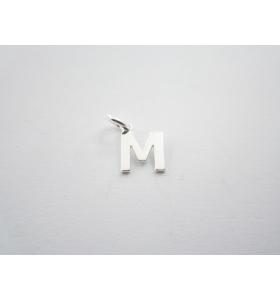 1 ciondolo charms piccola lettera L in argento 925