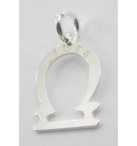 Ciondolo charms segno zodiacale BILANCIA argento 925  made in italy