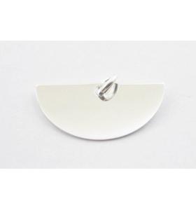 ciondolo charms ventaglio in argento 925 misure 20x10 mm