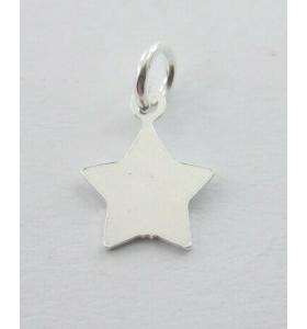 ciondolo charms stella  11x9 mm argento 925