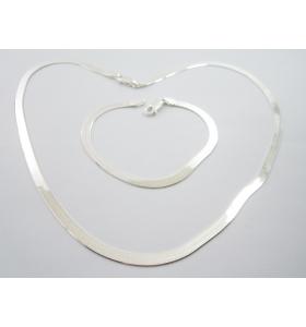 collana girocollo maglia morbida di 4,5 mm argento 925 lungo 45 cm made in italy