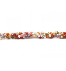 filo zirconi piccoli multi color di 2 mm tondi e sfaccettati 1 filo