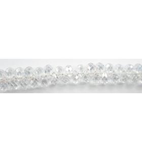 Zircone goccia bianco  taglio briolè di 5x3 mm 8pz