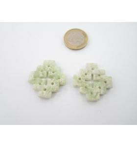 1 centrale giada verde con sfumature 30x32