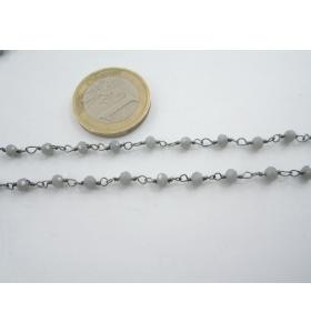 50 cm catena rosario tono...