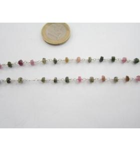 27 cm catenina rosario...