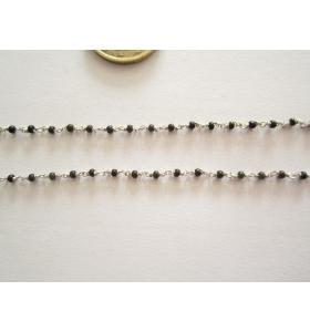 50 cm catenina rosario tono...