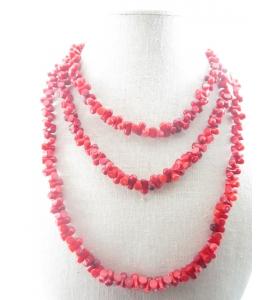 collana corallo bambù rosso...