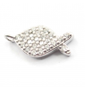 charms pesce argento 925...