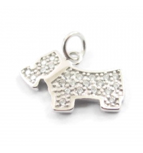 ciondolo charms dog argento...