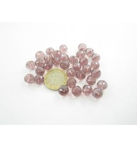 lotto di 33 cristalli viola...