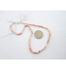 1 filo di  opale rosa...