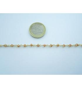 50 cm. di catena rosario...