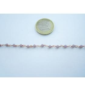 50 cm catena rosario...