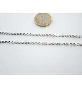 50 cm. di catena in acciaio...
