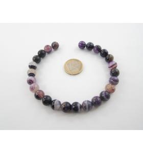 25 pietre in agata viola...