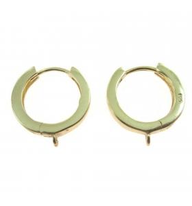 orecchini tondi di 15 mm...