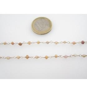 20 cm catenina rosario...