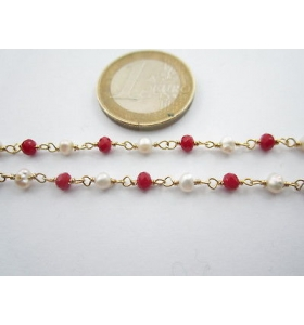 33 cm di catena rosario in...