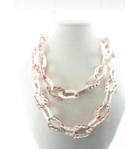 1 lunga collana catena...