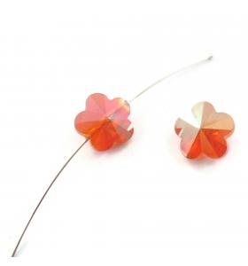 2 fiori  in cristallo...