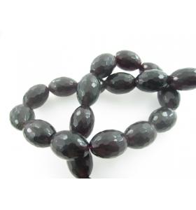 Onice nera  forma oliva...