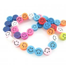 Perline faccine smile in...
