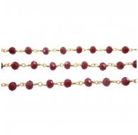 catena rosario tono dorato...