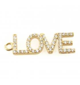 Charms scritta LOVE di...