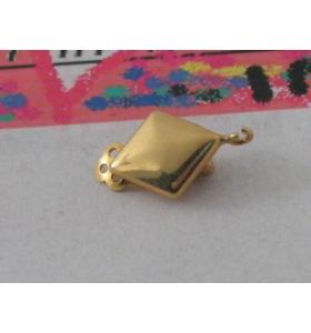 1 clip no foro argento 925 placcato oro giallo
