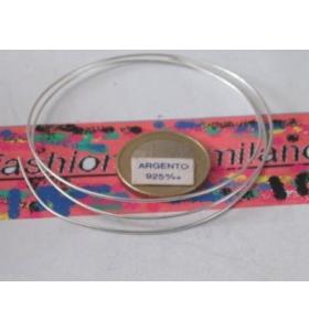 1 METRO DI FILO IN ARGENTO 925 ITALY COTTO DIAM. 0,5MM.