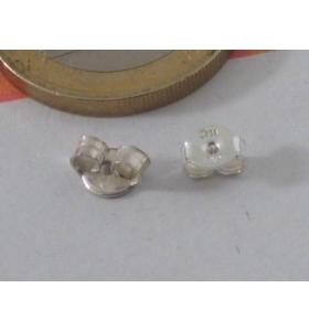 1 paio di farfalline in argento925 per perni orecchino