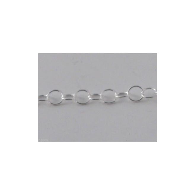 Primo prezzo 20 cm catena argento925 anellini 3x0 5mm for Primo prezzo