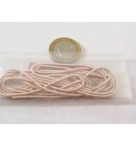 1 sacchetto di circa 5 grammi di canutiglia RAMATA grossa 1,5 mm interno 1 mm