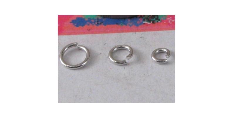 anellini argento aperti