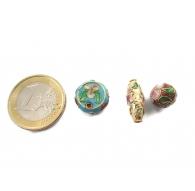 perle metallo e cloisonnè