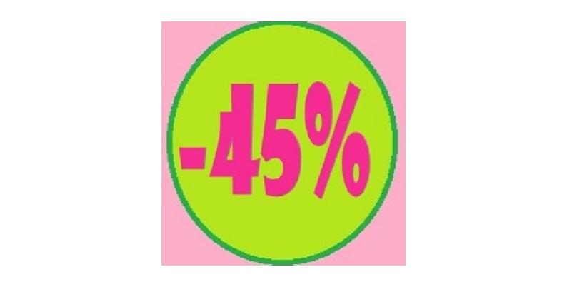 Promozioni sconto 45%