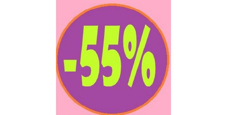 Promozioni sconto 55%